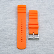 SKX StrapoFIT Tangerine Orange