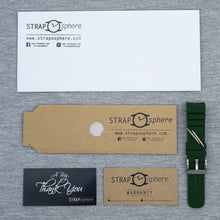Clover Green The SKX StrapoFIT Curved End Silicone