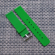 Shamrock Green The StrapoMESH Silicone 20/22mm