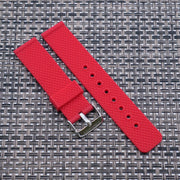 Scarlet Red The StrapoMESH Silicone 20/22mm