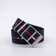 StrapoBELT 2.0 Adjustable Nato Black/Crimson