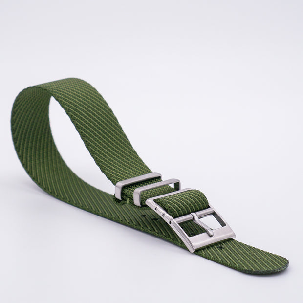 Hunter Green StrapoBELT 2.0 Adjustable Nato 20/22mm
