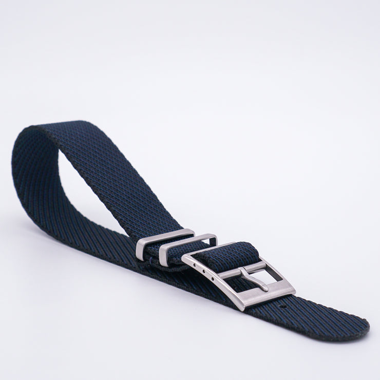 StrapoBELT 2.0 Adjustable Nato Bluish Black