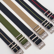 Black/Hunter Green StrapoBELT 2.0 Adjustable Nato 20/22mm