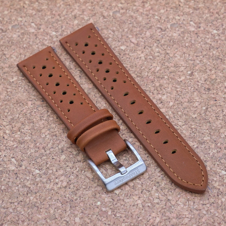 RALLY 3.0 Ginger Brown StrapoLEATHER 20/22mm