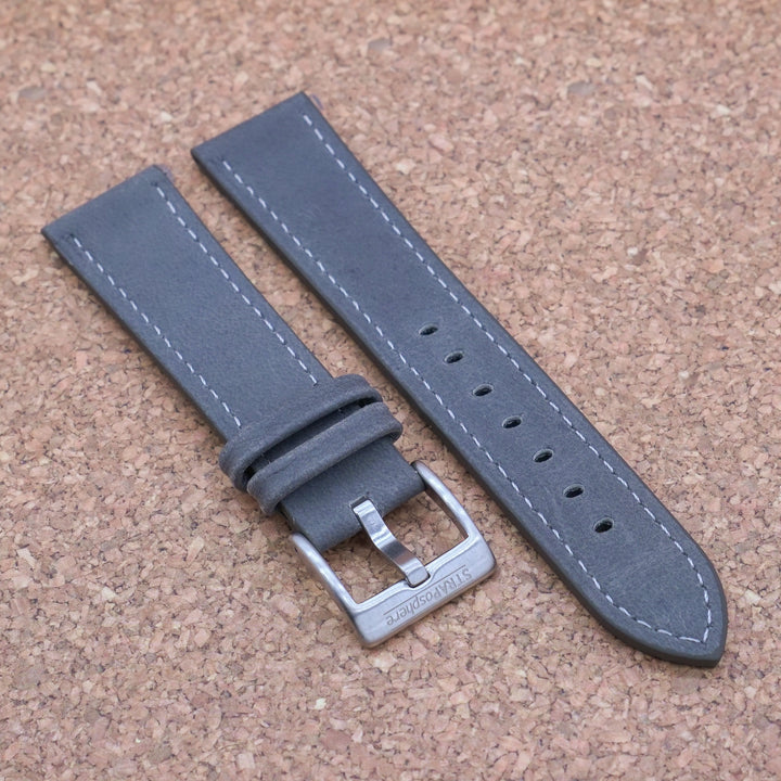 VINTAGE 3.0 Steel Grey StrapoLEATHER 20/22mm