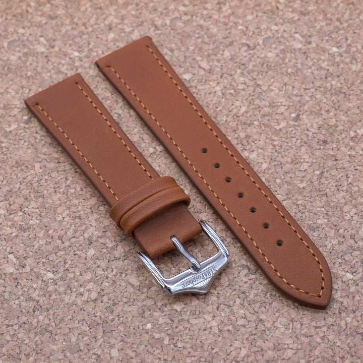 CLASSIC 2.0 Oak Tan StrapoLEATHER 20/22mm