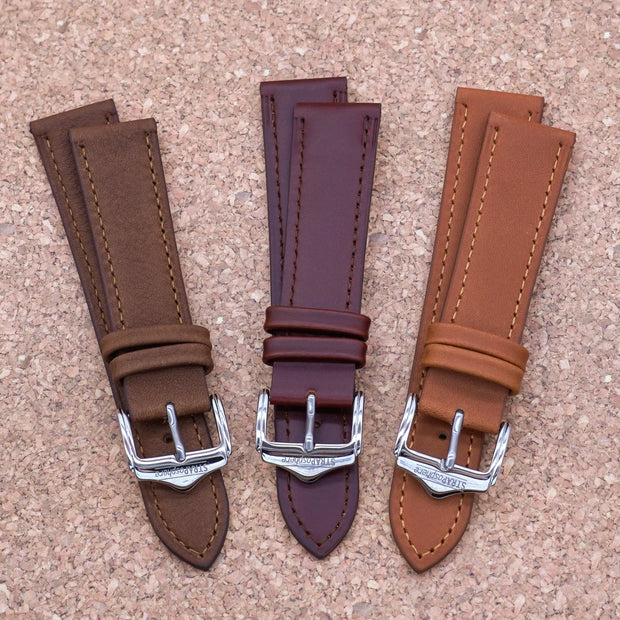 StrapoLEATHER CLASSIC 2.0 Pecan Brown