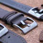 StrapoLEATHER VINTAGE 3.0 Seal Grey