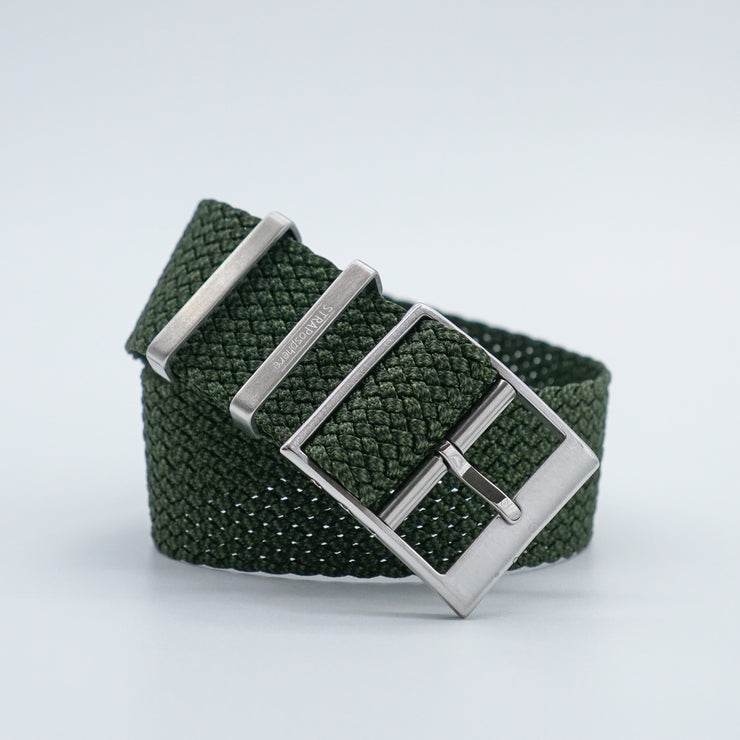 StrapoBELT 3.0 Adjustable Perlon Forest Green