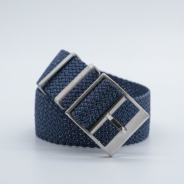 StrapoBELT 3.0 Adjustable Perlon Indigo Blue