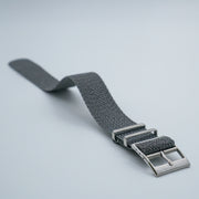 StrapoBELT 3.0 Adjustable Perlon Ash Grey