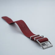 StrapoBELT 3.0 Adjustable Perlon Sangria Red
