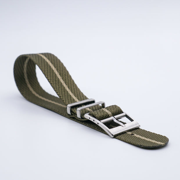 Olive/Gobi Sand StrapoBELT 2.0 Adjustable Nato 20/22mm