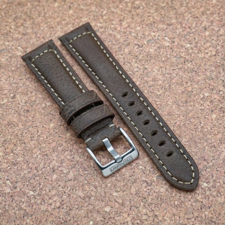 StrapoLEATHER ITALIAN 2.0 Cedar Brown
