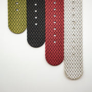 StrapoBELT 4.0 Adjustable Nato Herringbone Silver