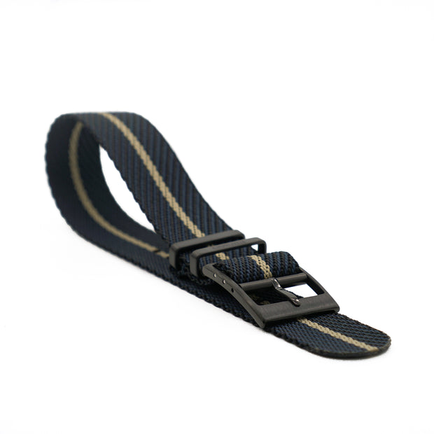 PVD Black StrapoBELT 2.0 Adjustable Nato Black/Gobi Sand
