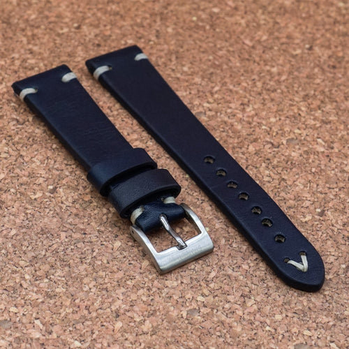 VINTAGE Midnight Blue StrapoLEATHER 20/22mm