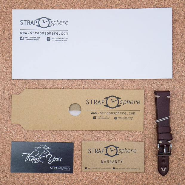 StrapoLEATHER VINTAGE Tan Brown