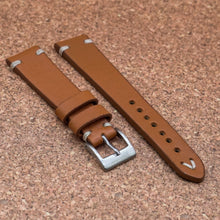 VINTAGE Tan Brown StrapoLEATHER 20/22mm