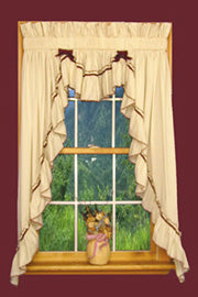 Top 5 Country Kitchen Swag Curtain Ideas – Window Toppers