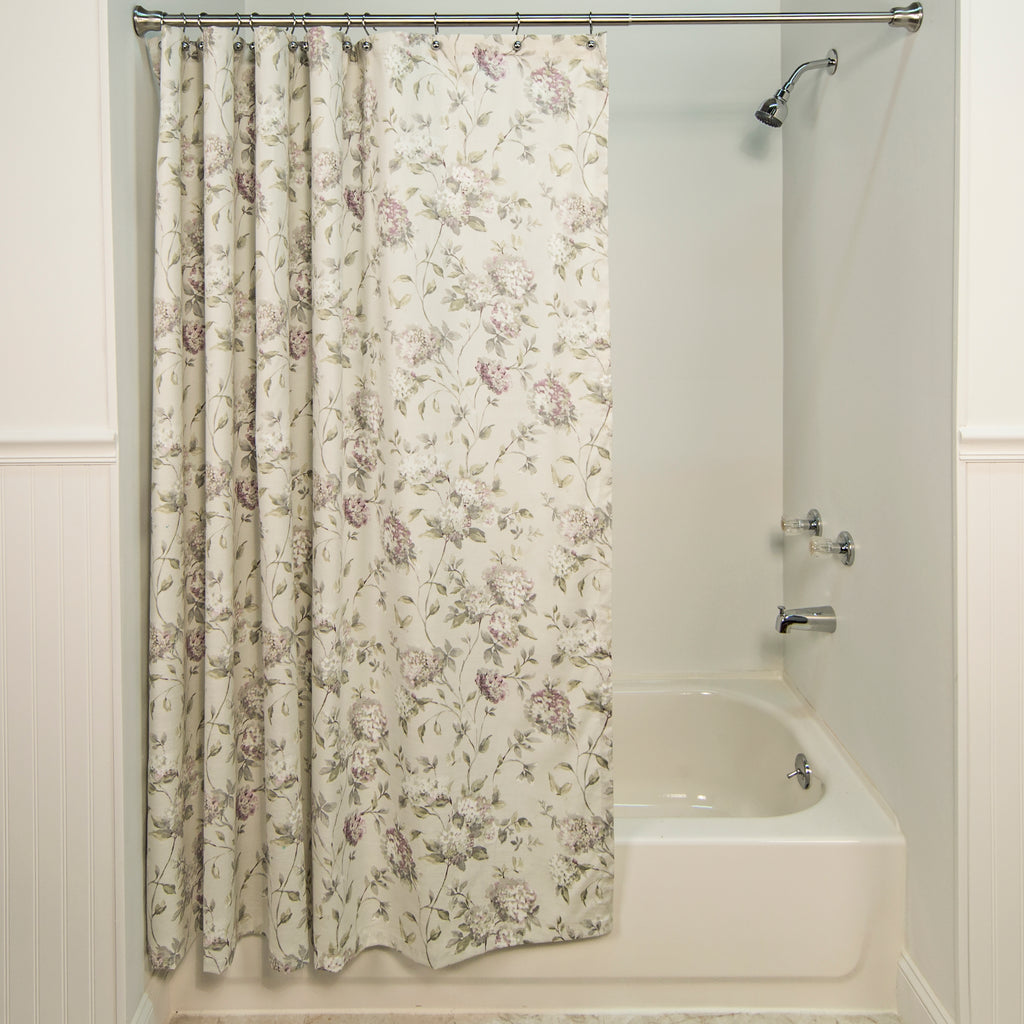 Coordinating Fabric Shower Curtains And Window Curtains