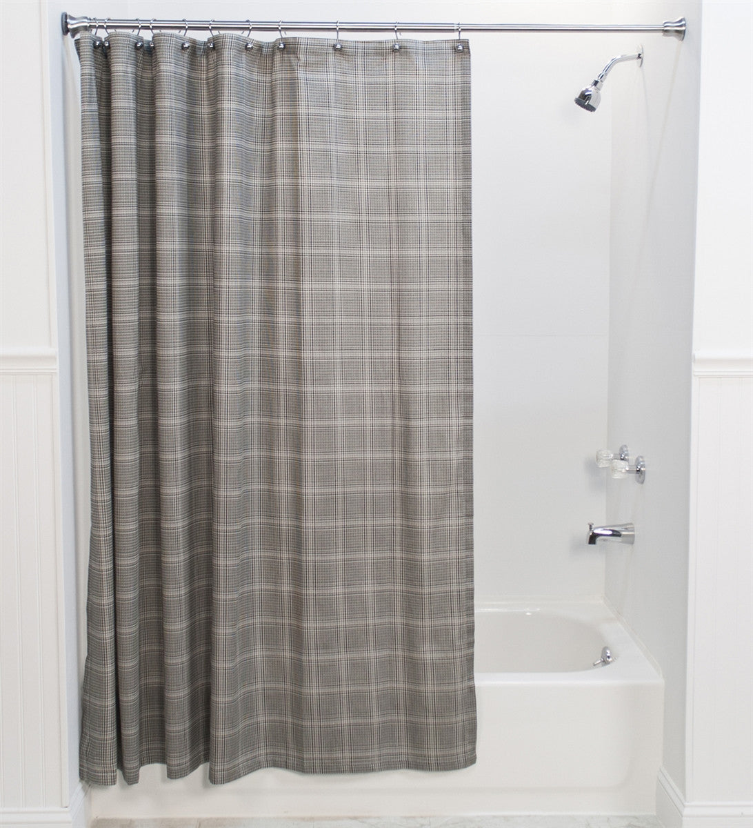 Coordinating Fabric Shower Curtains and Window Curtains | Window ...