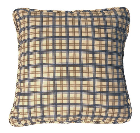 Bristol Plaid Print Toss Pillow