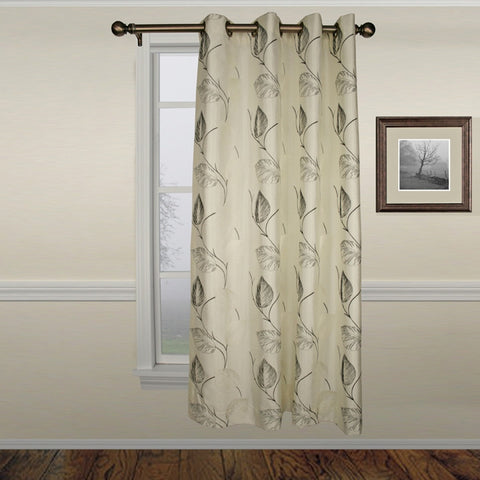 Astonish Lined Grommet Top Panel Window Curtain