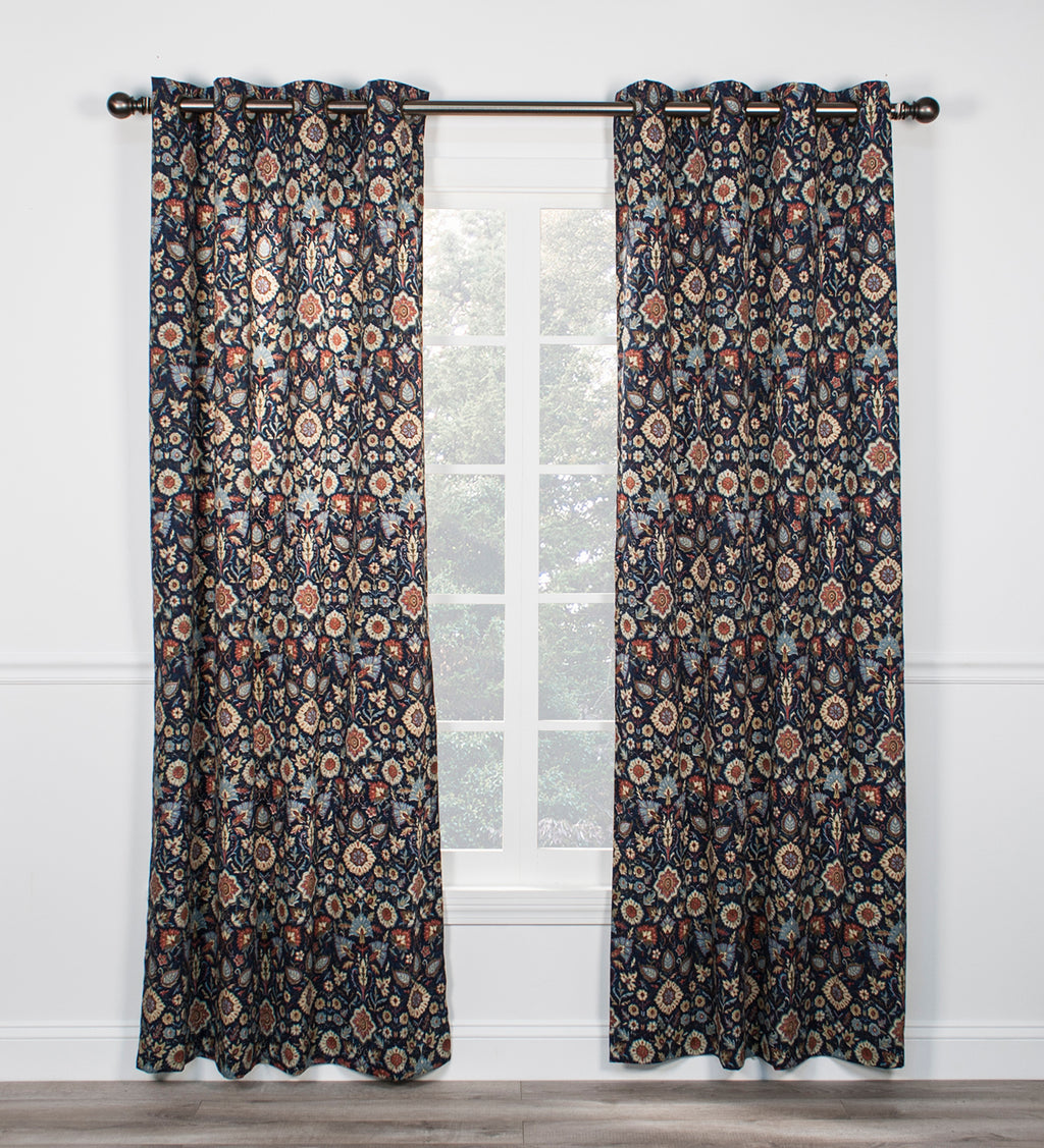 door navy curtain dining curtains glass collection house cute country panels bedroom room