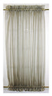 Amherst Solid Color Sheer Door Panel Curtain