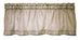 Amherst Solid Color Sheer Tailored Valance Window Curtain