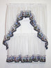 Lighthouse Harbor Ruffled Swags Window Curtains Pair