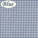 Logan Country Gingham Print Fabric Shower Curtain