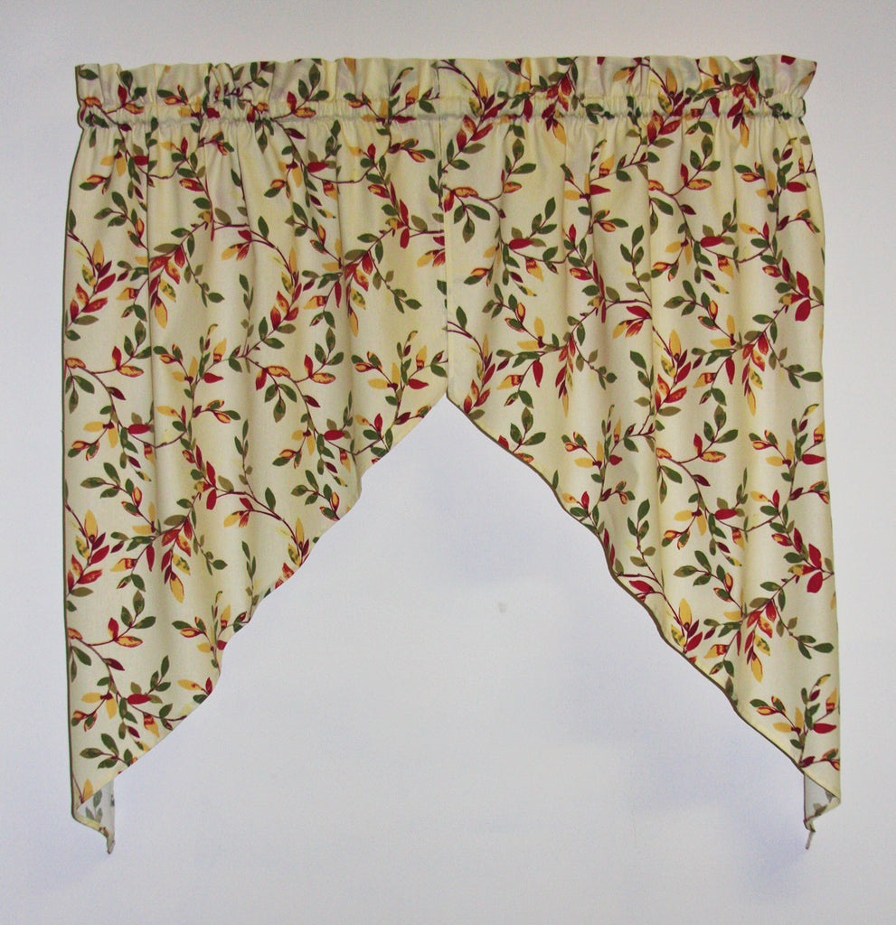 Tie Up Valances Curtains