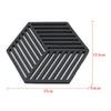 Cool Hexagonal PlaceMats Heat Resistant - OnionFox