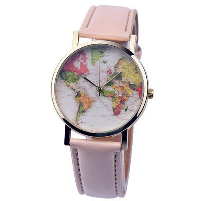 Colourful Leather Travel Watch
