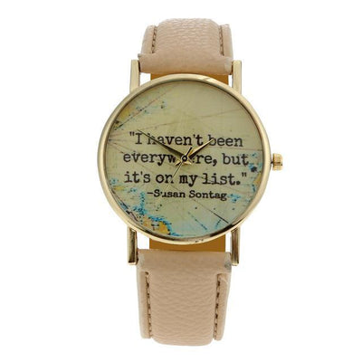 Susan Sontag Travel Watch - OnionFox