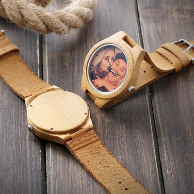 Custom Photo Wood Watch
