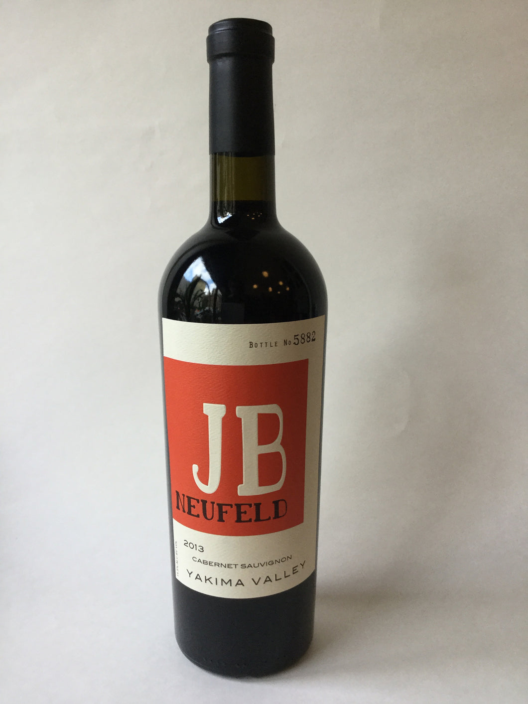 JB Neufeld Yakima Valley Cabernet Sauvignon 2014, 750ml - Frankly Wines