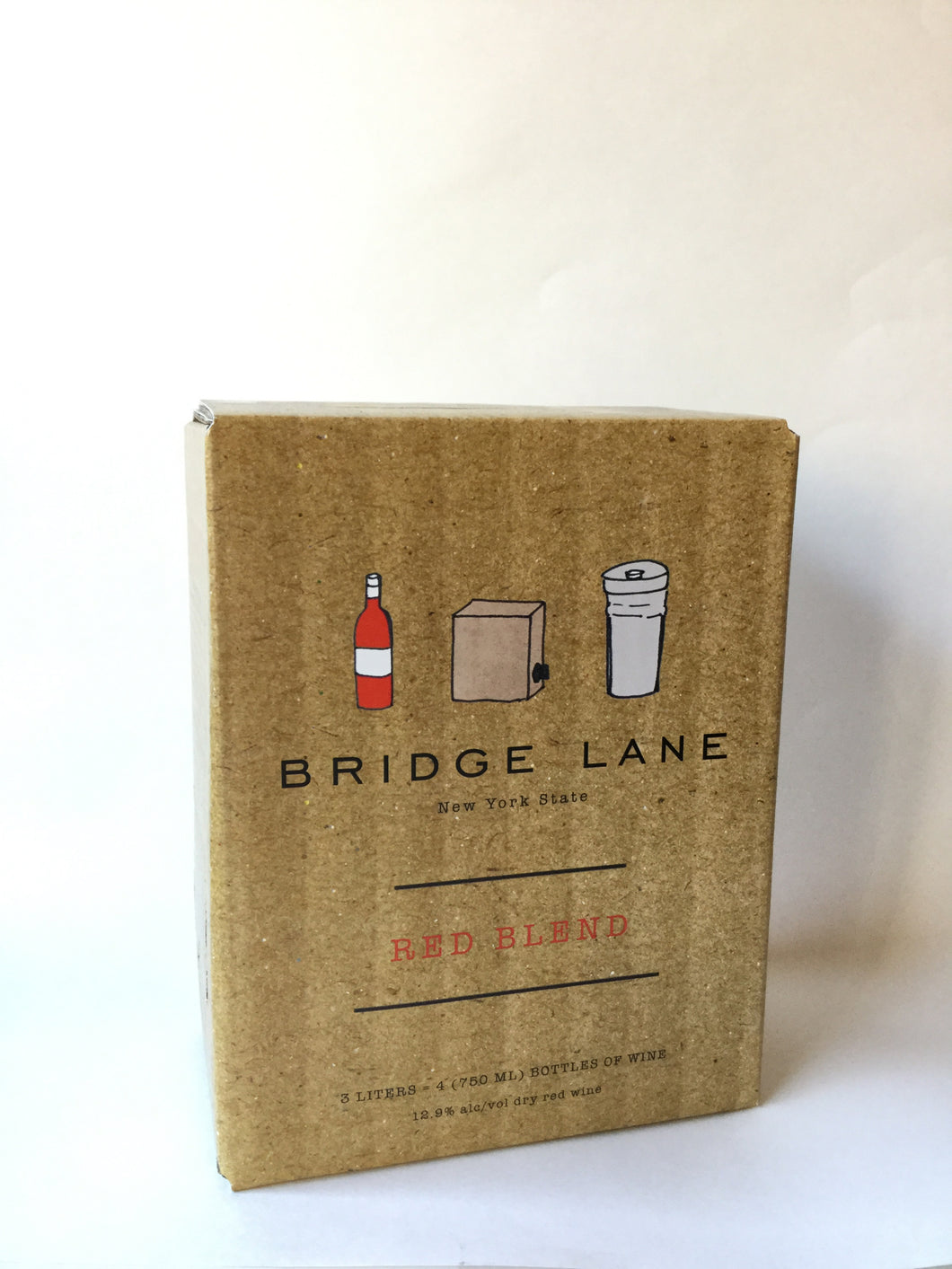 Bridge Lane Red Blend 3 Liter Bag-in-Box - Frankly Wines