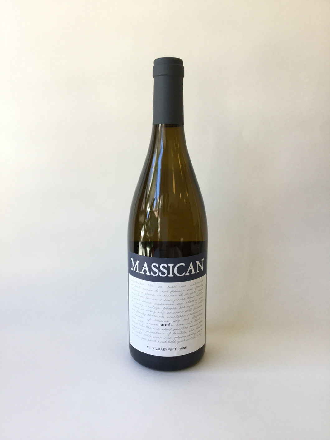 Massican, Napa Valley white 'Annia' 2016, 750ml - Frankly Wines