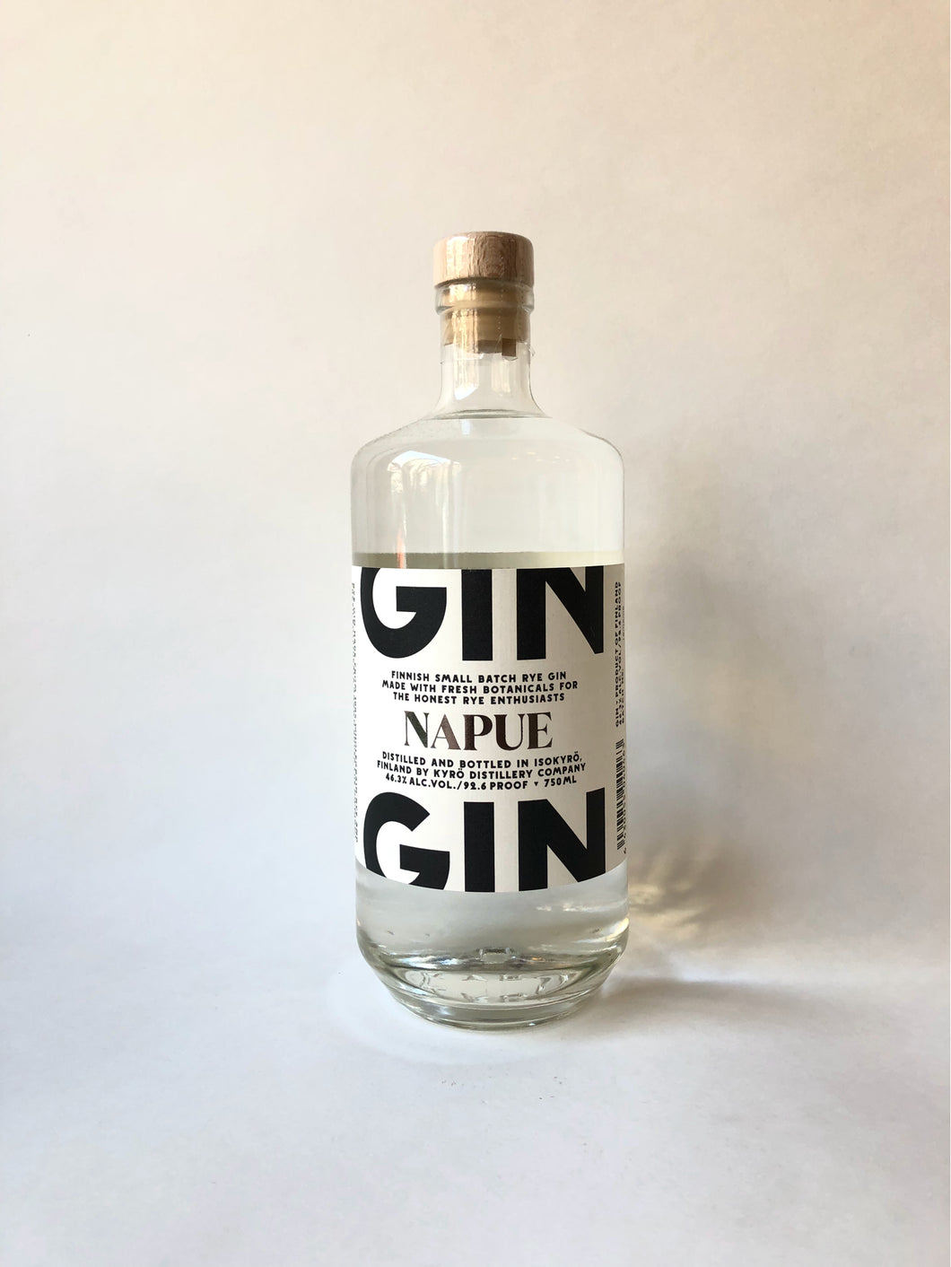 Kyro Distillery, Finnish Small Batch Rye Gin 'Napue', 750ml - Frankly Wines
