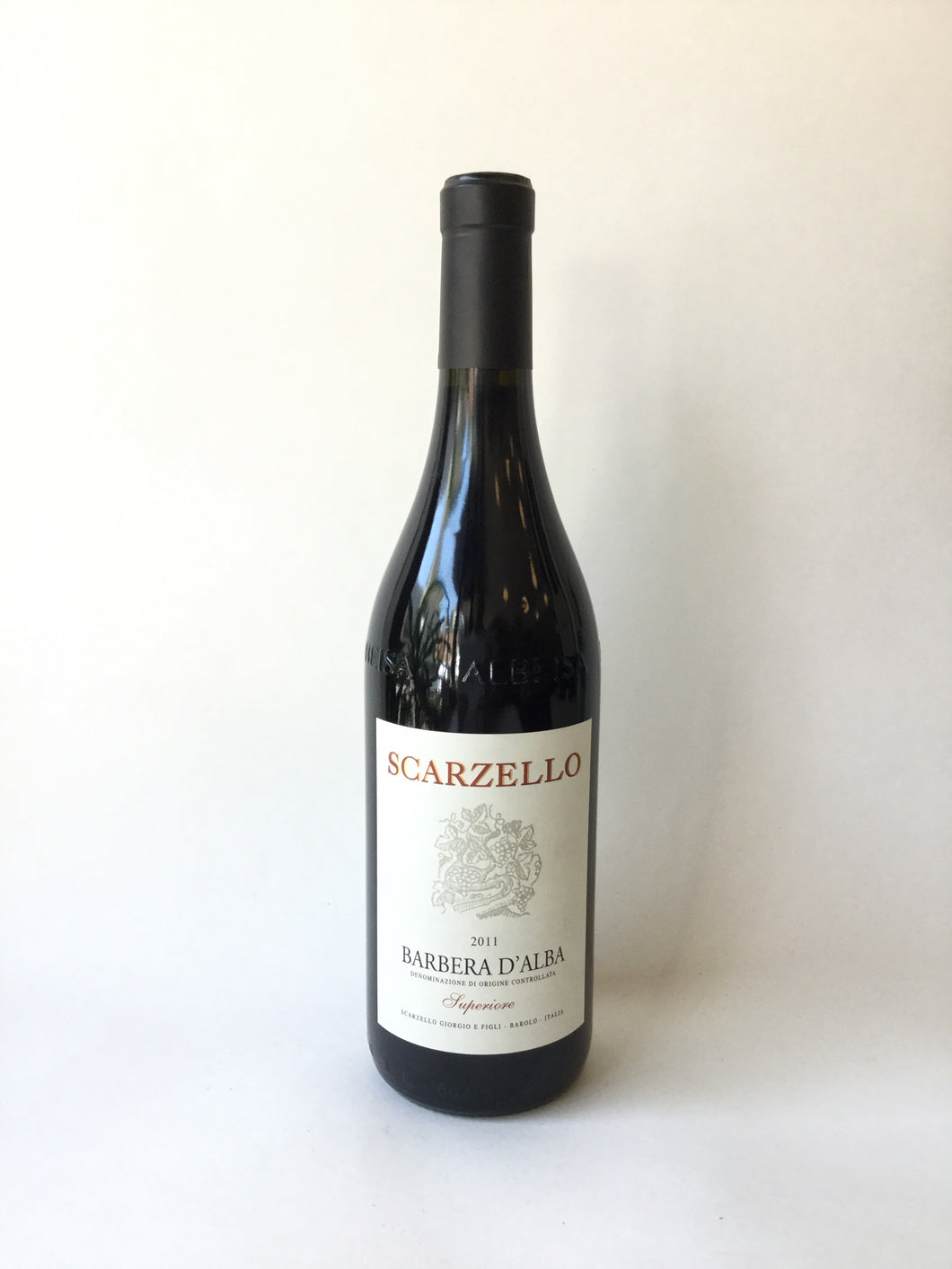 Scarzello, Barbera d'Alba Superiore, 2011, 750ml - Frankly Wines