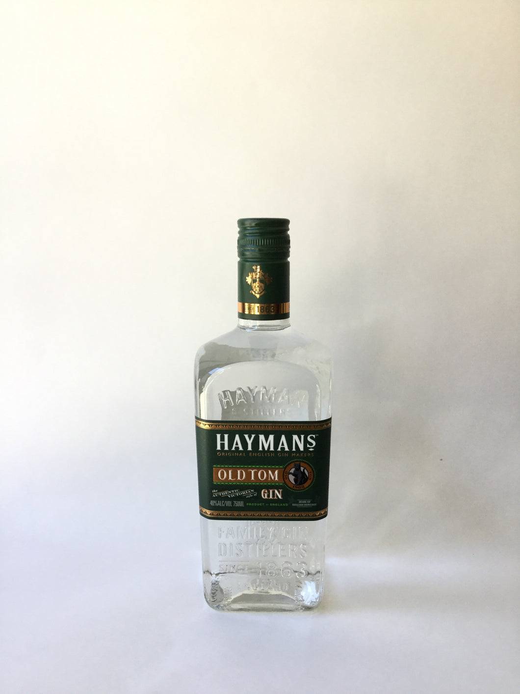 Hayman's Old Tom Gin, 750ml - Frankly Wines