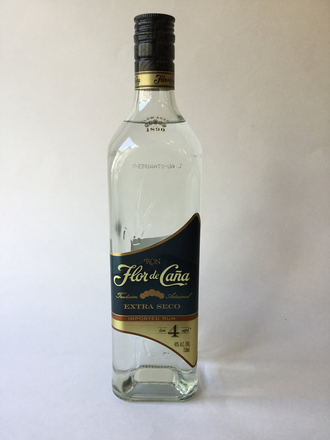 Flor De Cana Extra Seco 4 Year Aged Rum, 750ml - Frankly Wines