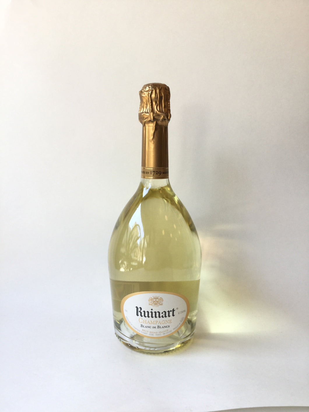 Ruinart Blanc De Blancs Brut, Champagne NV, 750ml - Frankly Wines