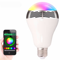 LED Bluetooth Smart Light Bulb With Remote Control