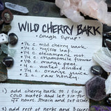 Wild Cherry Bark Syrup DIY // Make Your Own Cough Syrup