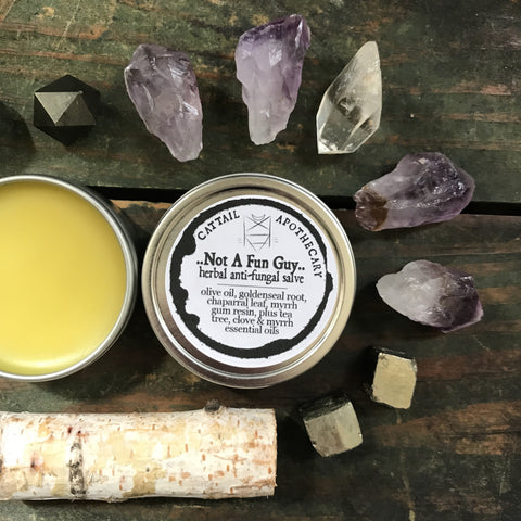 Not a Fun Guy // Herbal Anti-Fungal Salve